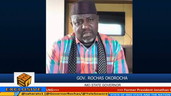 """If President Buhari Said He Will Recover Looted Funds, Then He Will"" -ROCHAS OKOROCHA"