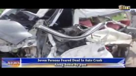 Auto crash along Benin by-pass claims 7 lives