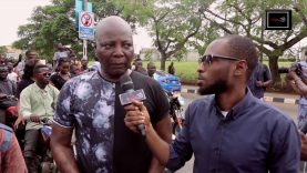 "Charly Boy leads masses for ""Our Mumu Done Do"" Protest"