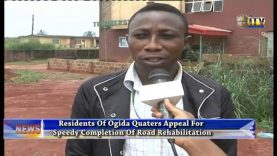 Residents Of Ogida Quarters Appeal For Speedy Completion Of Road Rehabilitation