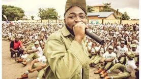 Davido Sends His NYSC Allowance To A Fan