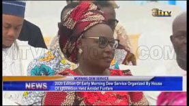 House of Igbinedion holds 2020 Early Morning Dew Service
