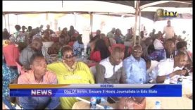 Oba of Benin, Eware II hosts journalists in Edo State