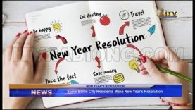 Some Benin residents make New Year Resolution
