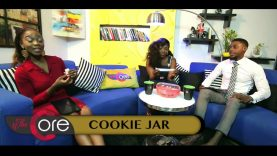 THE CORE WITH   NINIOLA  COOKIE JAR
