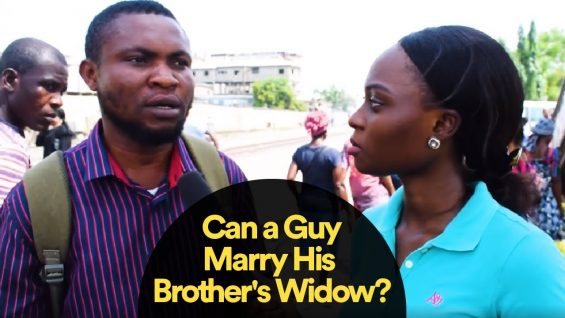 Should a Guy Marry His Brother's Widow?