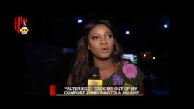 """""""ALTER EGO"""" TOOK ME OUT OF MY COMFORT ZONE- OMOTOLA JALADE (Nigerian Entertainment News)"""