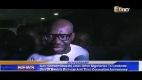 Gov. Obaseki join others to celebrate Oba of Benin's birthday and 3rd coronation anniversary