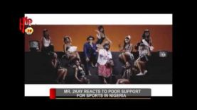 MR. 2KAY REACTS TO POOR SUPPORT FOR SPORTS IN NIGERIA (Nigerian Entertainment News)