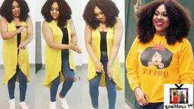 Nollywood Actress Stella Damasus Amazing Leg Work Dance