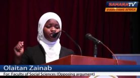 "Watch UNILAG Students Debate How 2015 Election Will ""Make"" Or ""Mar"" Nigeria"