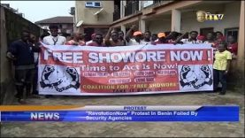 #RevolutionNow protest in Benin foiled by security agencies