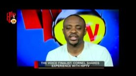 THE VOICE FINALIST, CORNEL SHARES EXPERIENCE WITH HIPTV (Nigerian Entertainment News)