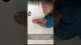 """Video: Man flogged for allegedly """"insulting"""" LG chairman"""