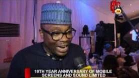 10TH YEAR ANNIVERSARY OF MOBILE SCREENS AND SOUND LIMITED (Nigerian Entertainment News)