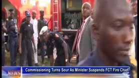 Commissioning Turns Sour As FCT Minister Suspends Fire Service