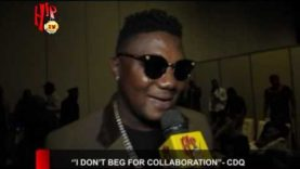 """""""I DON'T BEG FOR COLLABORATION"""" – CDQ (Nigerian Entertainment News)"""