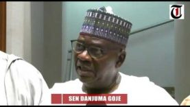 Why I stepped down for Lawan – Goje