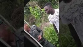 Video: Police officer 'arrests' young Nigerian for possessing iPhone